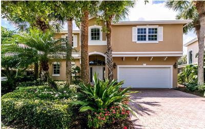 Jupiter Single Family Home Contingent: 17048 Crossgate Drive