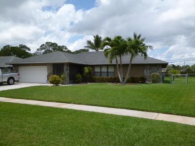 Royal Palm Beach Single Family Home Contingent: 179 Sunflower Circle