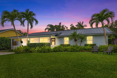 Hobe Sound Single Family Home For Sale: 8778 SE Rigdon Way