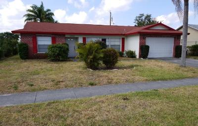 West Palm Beach Single Family Home For Sale: 1404 Mangonia Drive