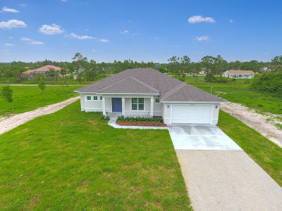 Loxahatchee Single Family Home For Sale: 14915 72nd Court