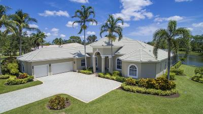 Palm Beach Gardens Single Family Home For Sale: 8130 Woodsmuir Drive