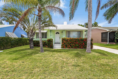 Lake Worth Single Family Home For Sale: 76 18th Avenue S