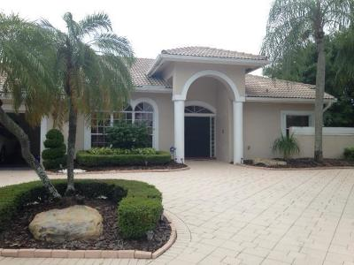 Boynton Beach Single Family Home For Sale: 9408 Cascade Court