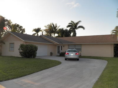 Palm City Single Family Home For Sale: 2447 SW 13th Terrace
