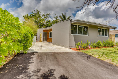 Boca Raton Single Family Home Contingent: 517 Manchester Street