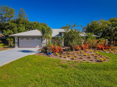 Stuart FL Single Family Home For Sale: $399,000