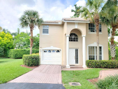 Boca Raton Single Family Home For Sale: 7367 Panache Way