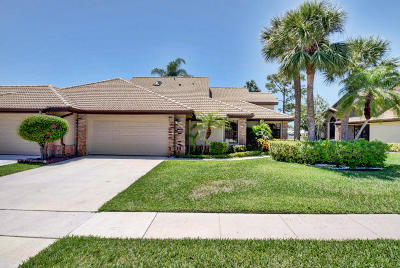 Boynton Beach Single Family Home For Sale: 8147 Cassia Drive