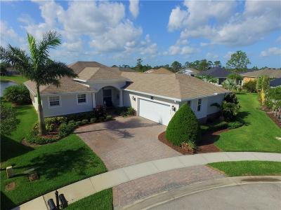 Indian River County Single Family Home For Sale: 615 Mallow Scrub Way