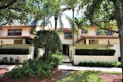 Boca Raton Single Family Home For Sale: 7960 La Mirada Drive