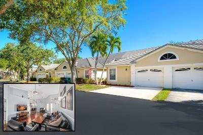 Coral Springs Single Family Home For Sale: 8781 Forest Hills Boulevard #41