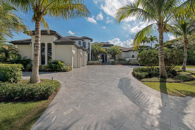 Jupiter FL Single Family Home For Sale: $5,595,000