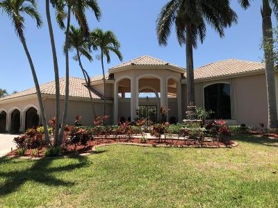 Boca Raton Single Family Home For Sale: 2699 NW 64 Boulevard