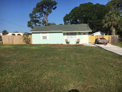 Fort Pierce Single Family Home For Sale: 3017 S 7th Street