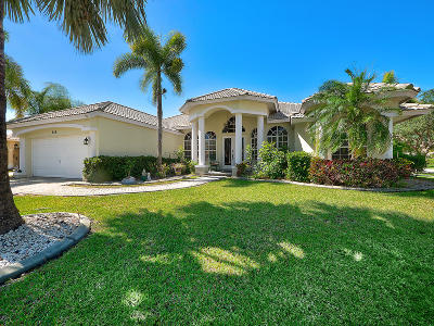 Royal Palm Beach Single Family Home For Sale: 259 Ponderosa Court