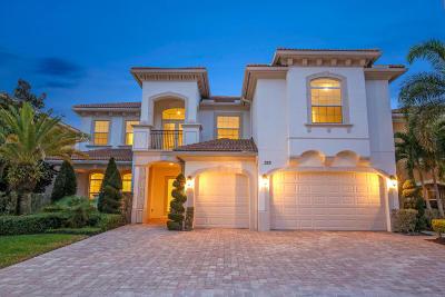 Palm Beach Gardens FL Single Family Home For Sale: $1,575,000