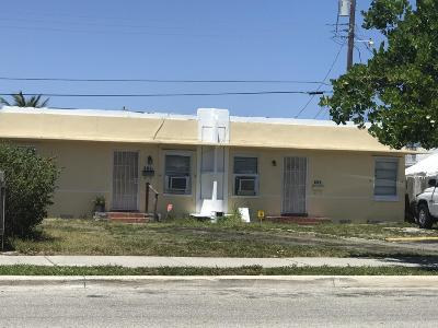 West Palm Beach Multi Family Home For Sale: 607 54th Street