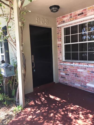 Fort Lauderdale Rental For Rent: 903 SW 16 Street