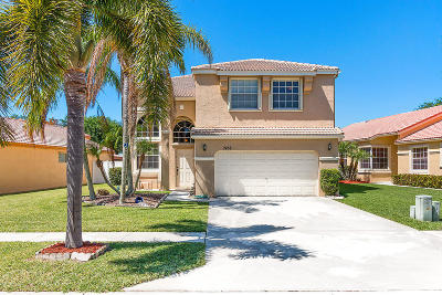 Lake Worth Single Family Home For Sale: 7458 Kingsley Court
