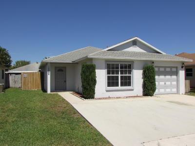 Boynton Beach Single Family Home For Sale: 10098 Boynton Place Circle