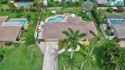 Delray Beach Single Family Home For Sale: 3609 Lakeview Boulevard