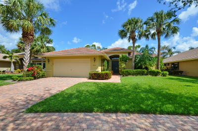 Boynton Beach Single Family Home For Sale: 7699 Via Grande