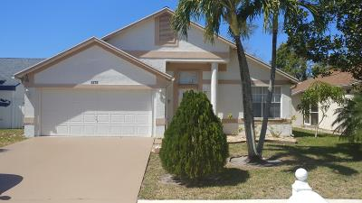 West Palm Beach Single Family Home For Sale: 5175 Foxhall Place