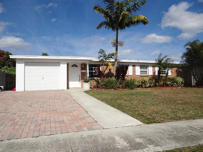 Palm Beach Gardens Single Family Home For Sale: 3831 Catalina Road
