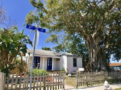 West Palm Beach Single Family Home For Sale: 900 31st Street
