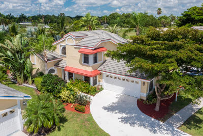 Lake Worth Single Family Home For Sale: 6225 Beaconwood Road