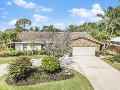 Delray Beach Single Family Home For Sale: 3578 Lakeview Drive