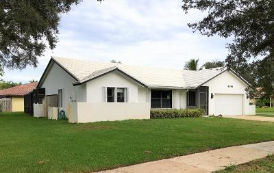 Delray Beach Single Family Home For Sale: 4065 NW 7th Lane