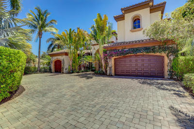 Palm Beach Single Family Home For Sale: 200 Via Emilia