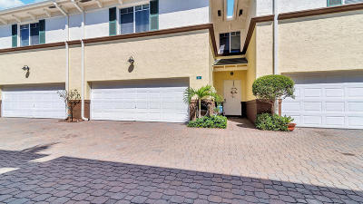 Lake Worth Townhouse For Sale: 518 Federal Highway #6