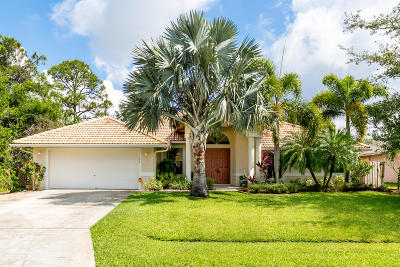 Port Saint Lucie Single Family Home For Sale: 192 SW Milburn Circle