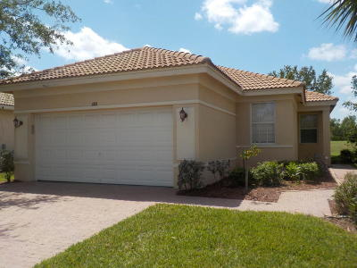Port Saint Lucie, Saint Lucie West Single Family Home For Sale: 688 NW Stanford Lane