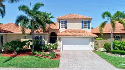 Boynton Beach Single Family Home For Sale: 8073 Saw Palmetto Lane