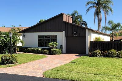 Boynton Beach Single Family Home For Sale: 5222 Mirror Lakes Boulevard