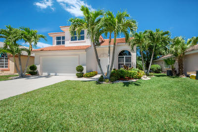Boynton Beach Single Family Home For Sale: 8542 Tourmaline Boulevard