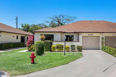 Boca Raton Single Family Home For Sale: 20774 Concord Green W