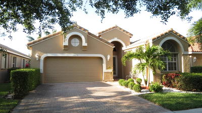 Boynton Beach Single Family Home For Sale: 10058 Diamond Lake Drive
