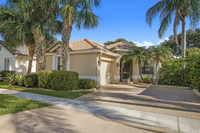 Boynton Beach Single Family Home For Sale: 6158 Bay Isles Drive