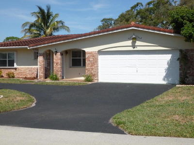 Deerfield Beach Single Family Home Contingent: 4630 NW 12th Drive