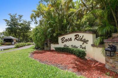 Boca Raton Condo For Sale: 9346 Sable Ridge Circle #D