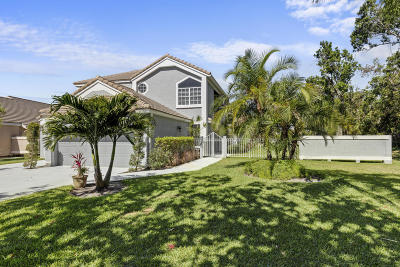 Palm Beach Gardens Single Family Home For Sale: 13901 Palm Grove Place