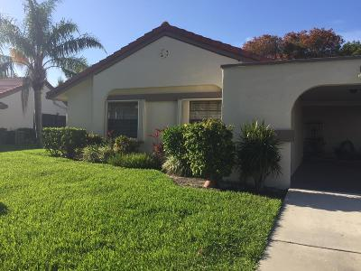Boynton Beach Single Family Home For Sale: 5707 Parkwalk Circle E