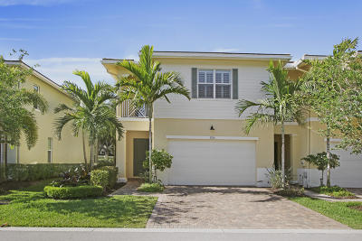 Palm Beach Gardens Townhouse For Sale: 5234 Cambridge Court