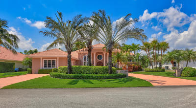 Palm Beach Gardens Single Family Home For Sale: 5610 Tamberlane Circle