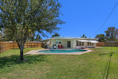 Pompano Beach Single Family Home For Sale: 1365 SW 1st Terrace